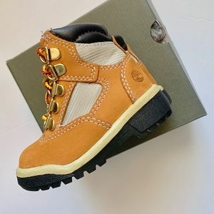 Toddler's TIMBERLAND 6 INCH FIELD BOOT (WHEAT)